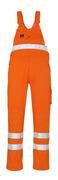 00469-860-14 Salopette avec poches genouillères - Hi-vis orange