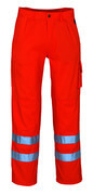 00479-860-14 Pantalon avec poches genouillères - Hi-vis orange