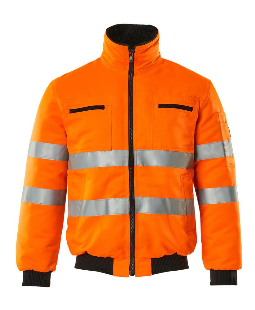 00516-660-14 Pilotenjas - hi-vis oranje