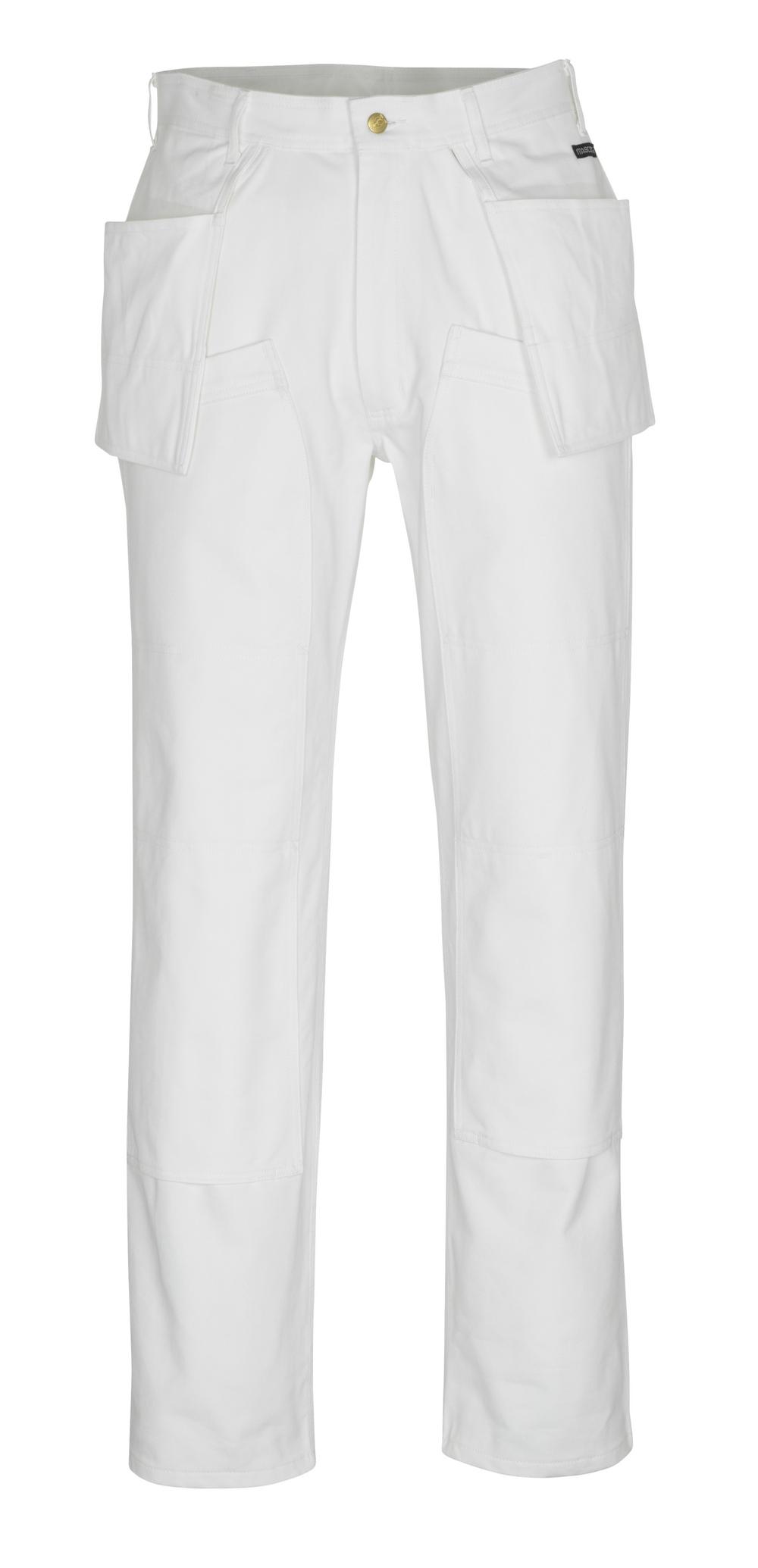 00538-630-06 Broek met knie- en spijkerzakken - wit