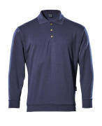 00785-280-01 Polosweatshirt - marine