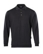 00785-280-09 Sweatshirt polo - Noir