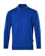 00785-280-11 Polosweatshirt - korenblauw