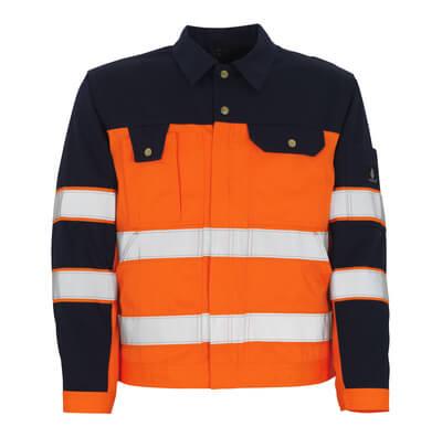 00909-860-141 Jack - hi-vis oranje/marine