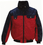 00920-620-21 Pilotenjas - rood/marine