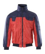 00922-620-21 Pilotenjas - rood/marine
