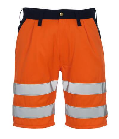 00949-860-141 Shorts - hi-vis oranje/marine