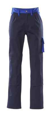 00955-630-111 Broek met kniezakken - marine/korenblauw
