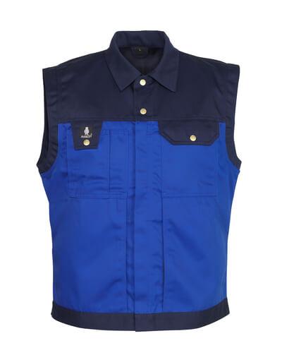 00990-430-1101 Bodywarmer - korenblauw/marine