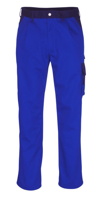 06279-430-1101 Broek met dijbeenzakken - korenblauw/marine