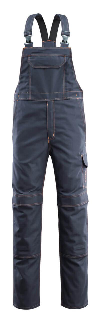 06669-135-010 Amerikaanse overall met kniezakken - donkermarine