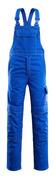 06669-135-11 Amerikaanse overall met kniezakken - korenblauw