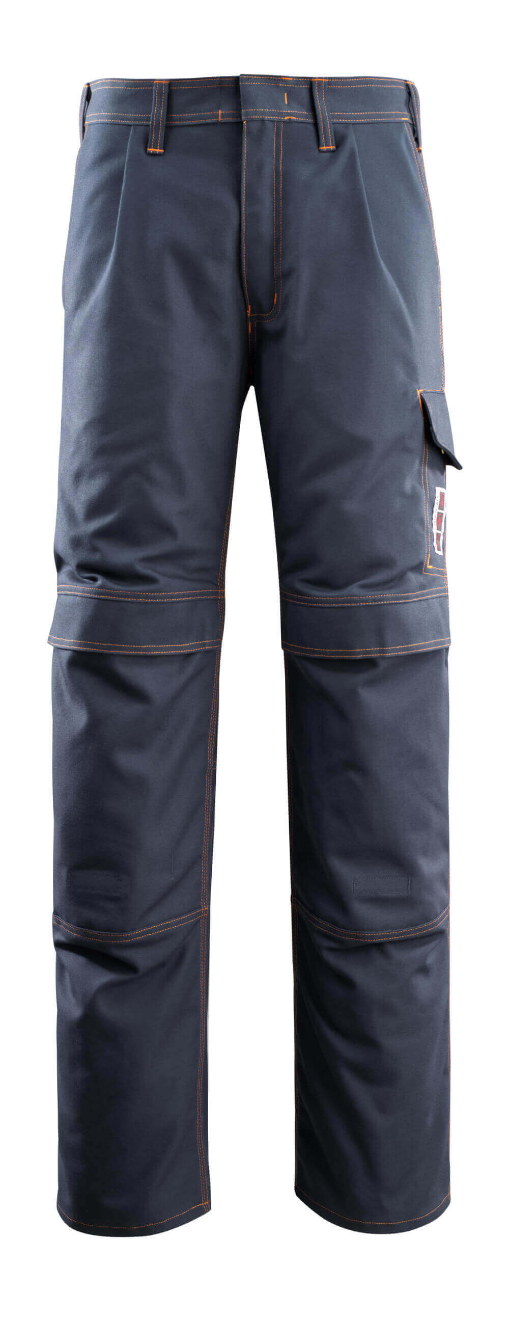 06679-135-010 Pantalon avec poches genouillères - Marine foncé