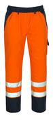 07090-880-141 Surpantalon avec poches genouillères - Hi-vis orange/Marine