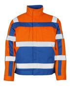 07109-860-1411 Jack - hi-vis oranje/korenblauw