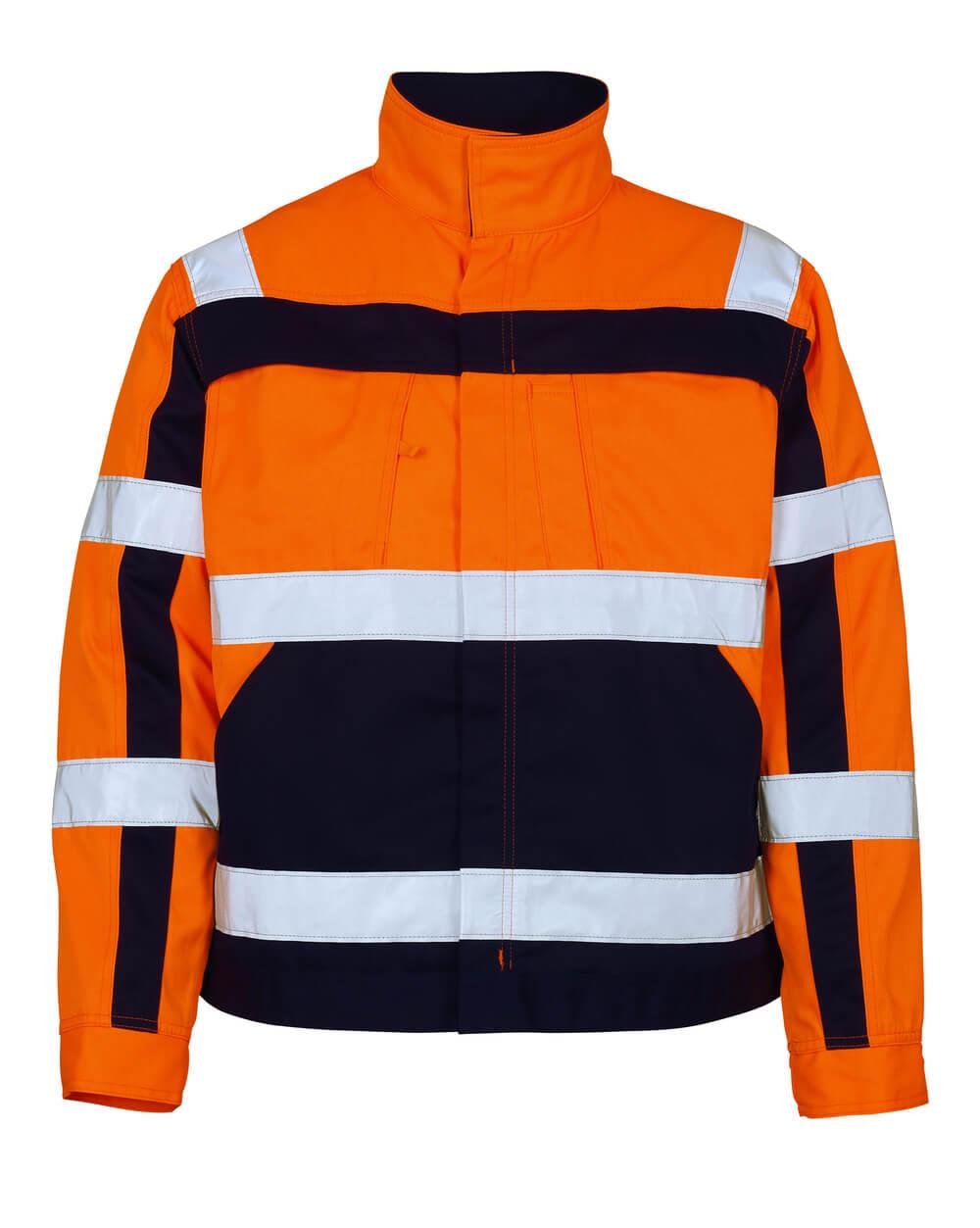 07109-860-141 Jas - hi-vis oranje/marine