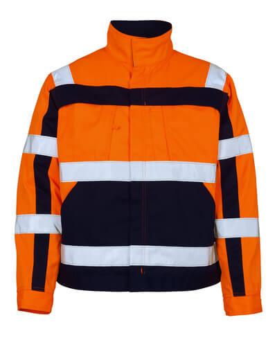 07109-860-141 Jack - hi-vis oranje/marine