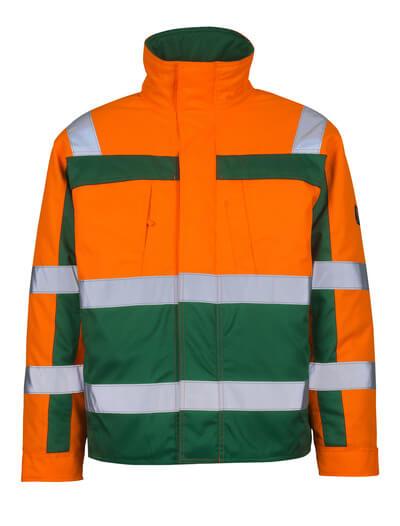 07123-126-1403 Pilotenjas - hi-vis oranje/groen