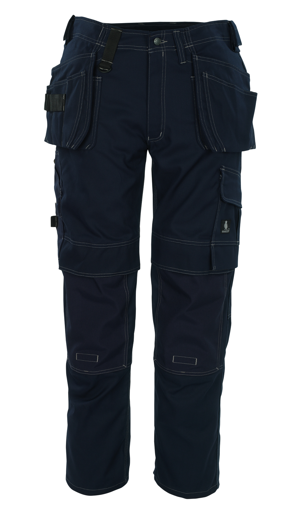 08131-010-01 Broek met knie- en spijkerzakken - marine