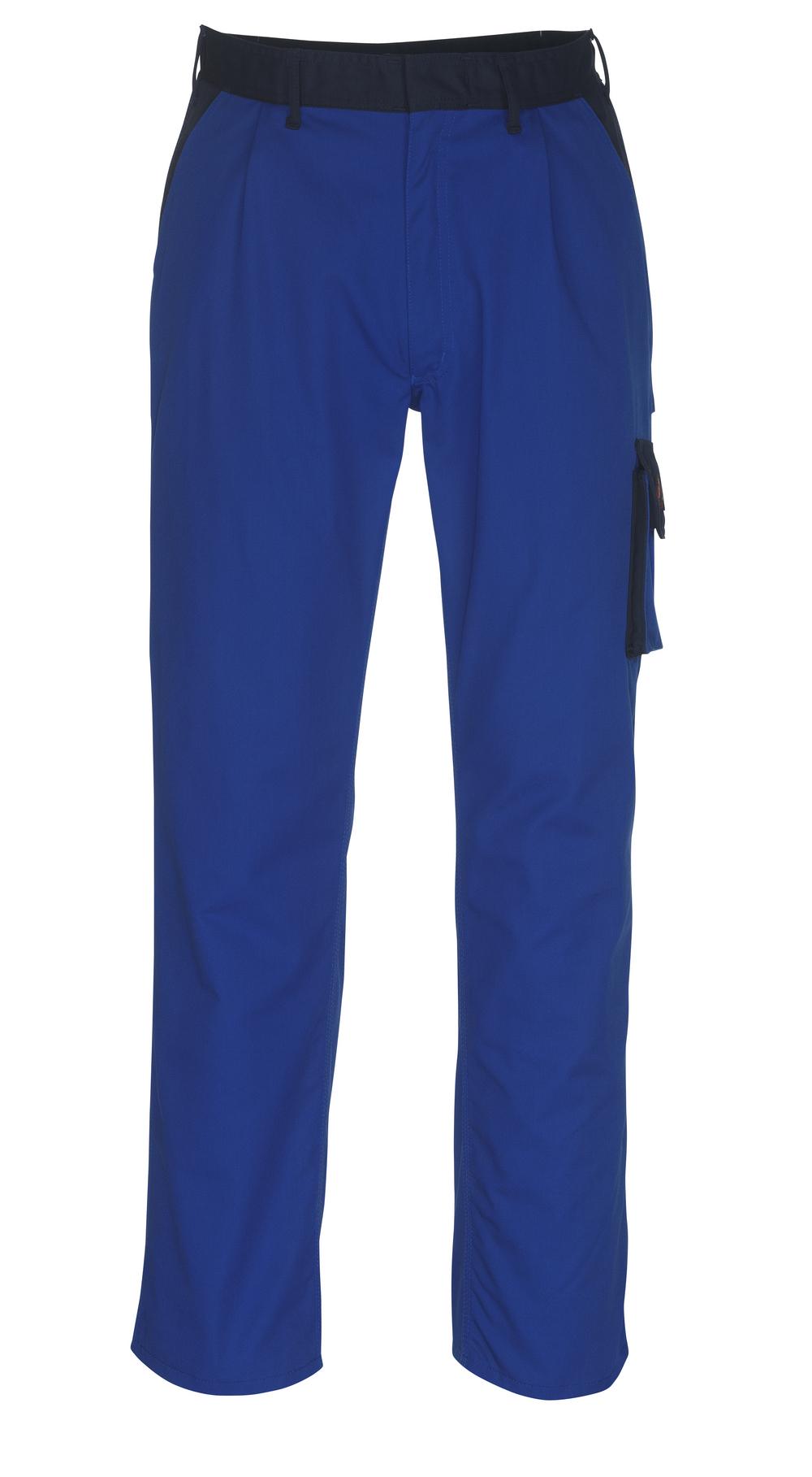 08779-442-1101 Broek met dijbeenzakken - korenblauw/marine