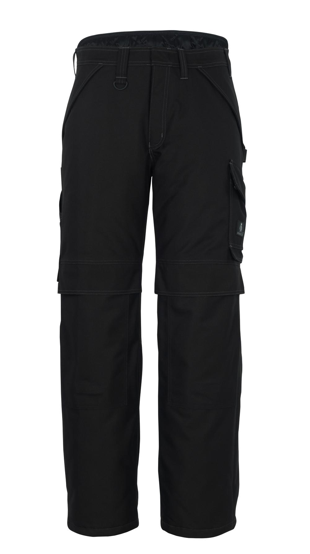 10090-194-09 Pantalon grand froid avec poches genouillères - Noir