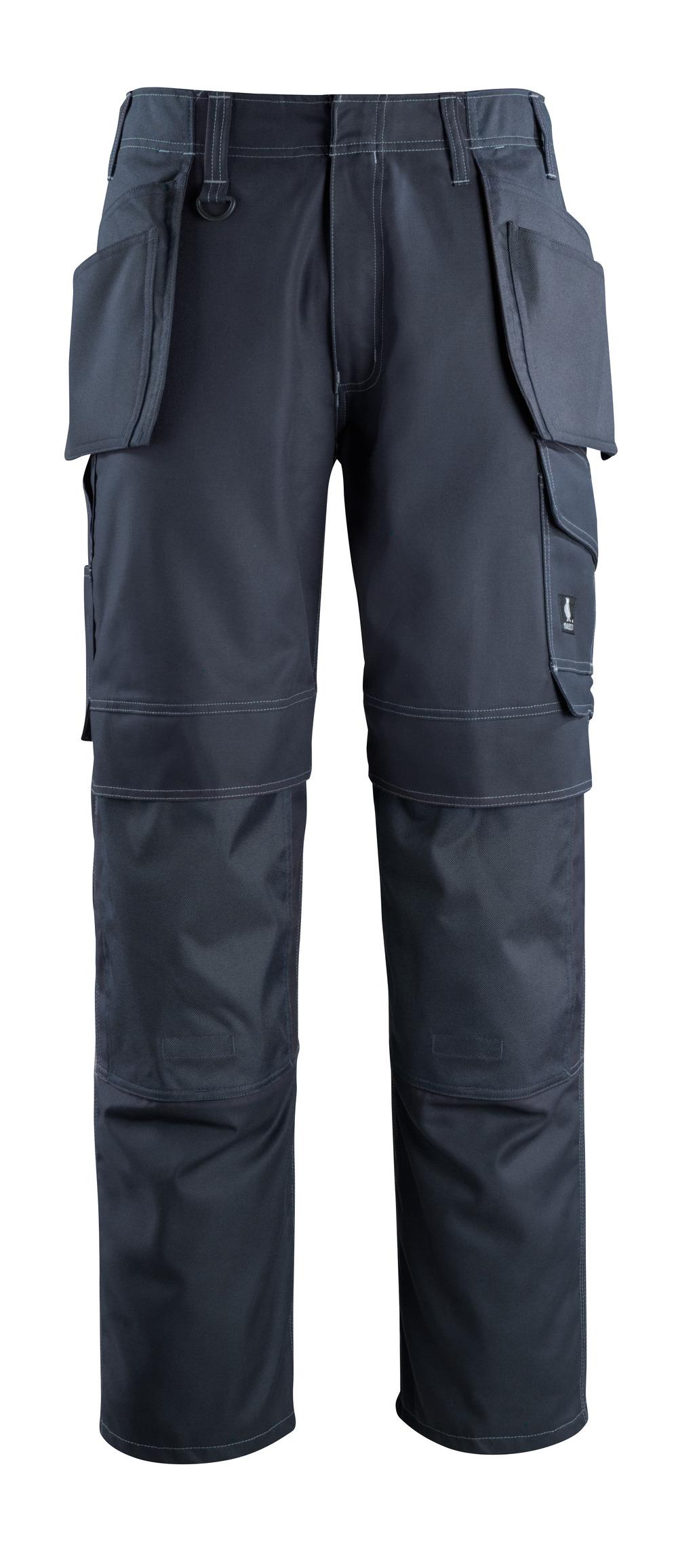 10131-154-010 Broek met knie- en spijkerzakken - donkermarine