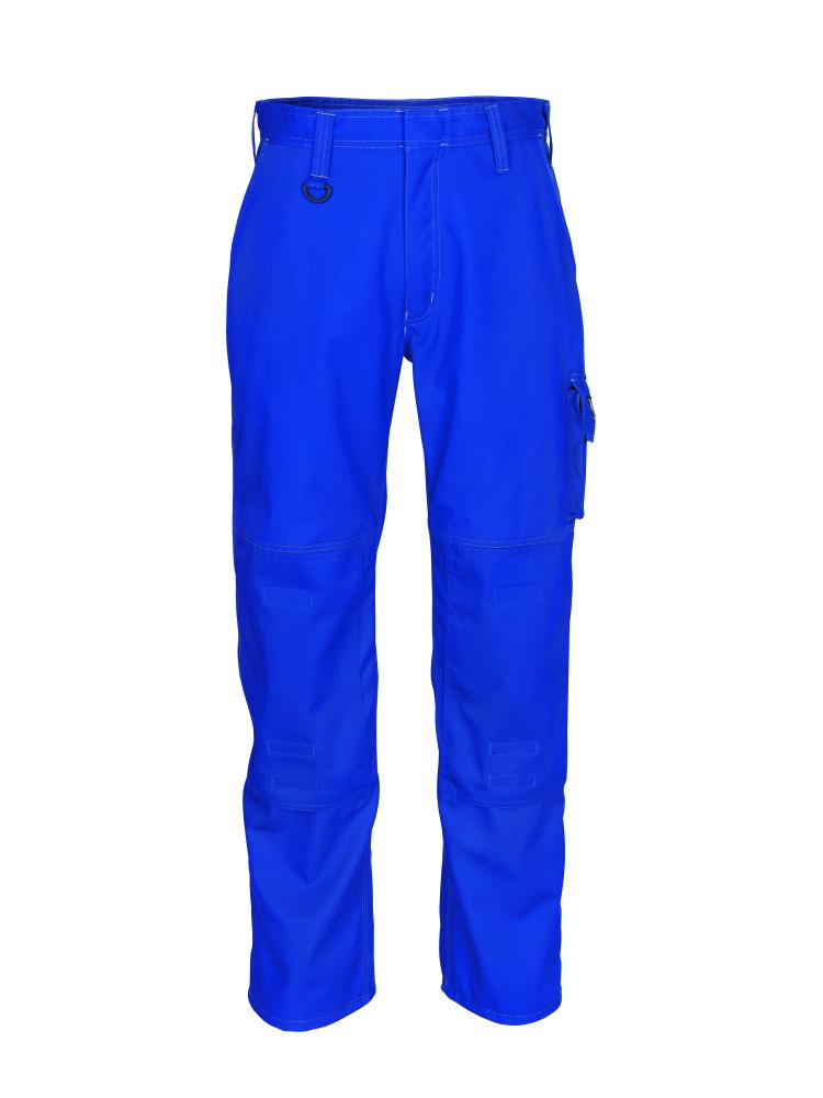 10579-442-11 Broek met kniezakken - korenblauw