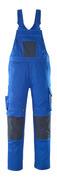 12069-203-11010 Amerikaanse overall met kniezakken - korenblauw/donkermarine