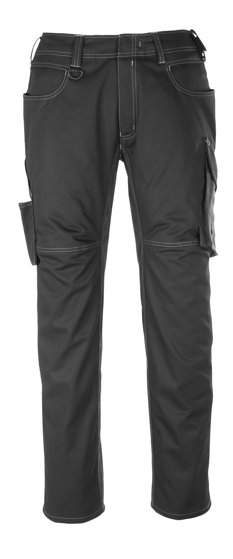12079-203-0918 Pantalon avec poches cuisse - Noir/Anthracite foncé