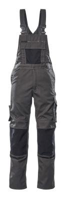 12169-442-1809 Salopette avec poches genouillères - Anthracite foncé/Noir