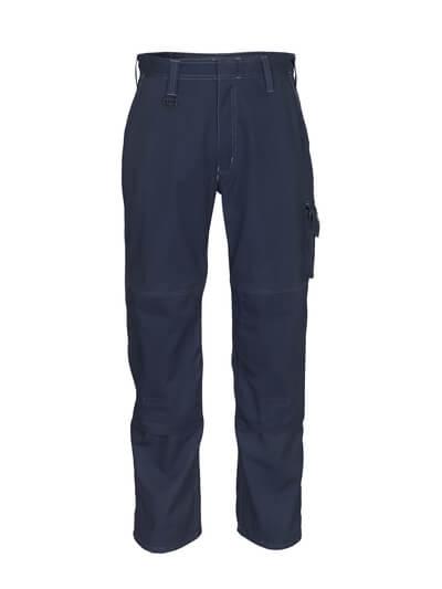 12355-630-010 Pantalon avec poches genouillères - Marine foncé