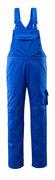 12362-630-11 Amerikaanse overall met kniezakken - korenblauw