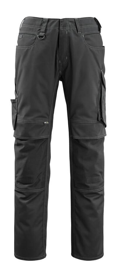 12479-203-010 Pantalon avec poches genouillères - Marine foncé