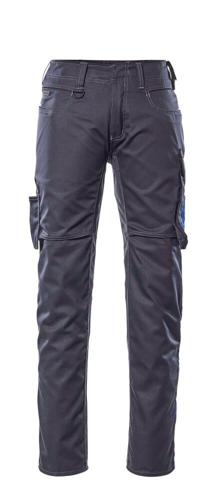 12579-442-01011 Broek met dijbeenzakken - donkermarine/korenblauw