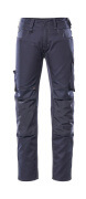 12779-442-010 Pantalon avec poches genouillères - Marine foncé