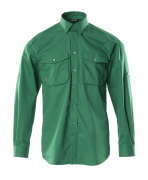 13004-230-03 Chemise - Vert bouteille