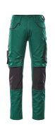 13079-230-1809 Pantalon avec poches genouillères - Anthracite foncé/Noir