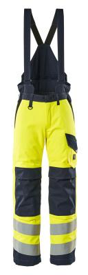13892-217-17010 Winterbroek - hi-vis geel/donkermarine