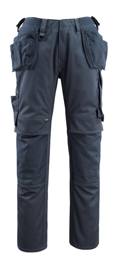 14131-203-010 Broek met knie- en spijkerzakken - donkermarine