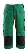 14149-442-1809 Driekwart broek met kniezakken - donkerantraciet/zwart