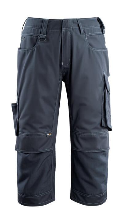 14249-442-010 Driekwart broek met kniezakken - donkermarine