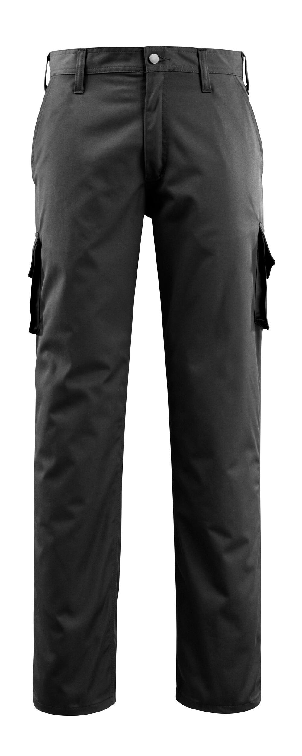 14779-850-09 Pantalon avec poches cuisse - Noir