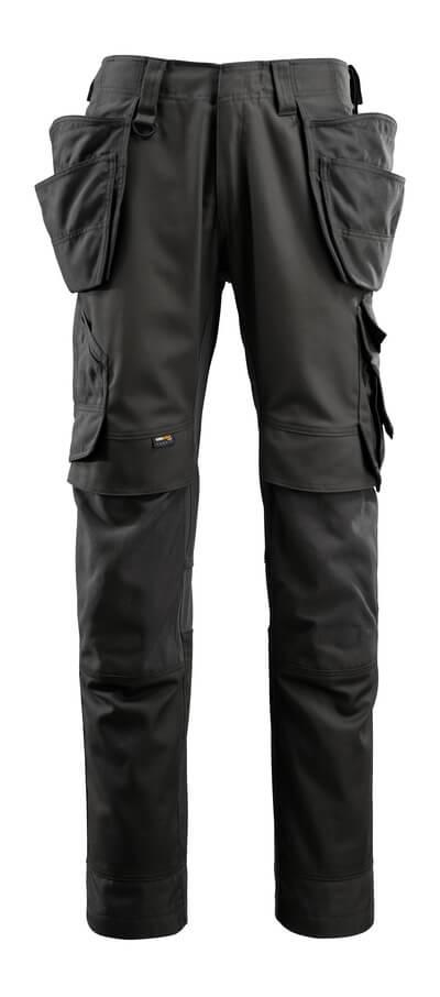15031-010-010 Pantalon avec poches genouillères et poches flottantes - Marine foncé