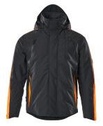 15035-222-01014 Winterjack - donkermarine/hi-vis oranje