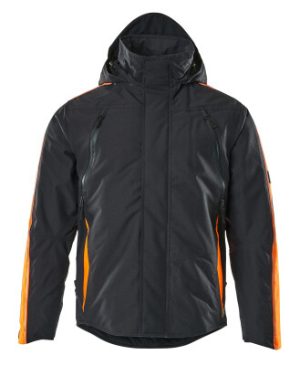 15035-222-01014 Veste grand froid - Marine foncé/Orange