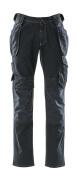 15131-207-86 Jeans avec poches flottantes - Denim blau foncé