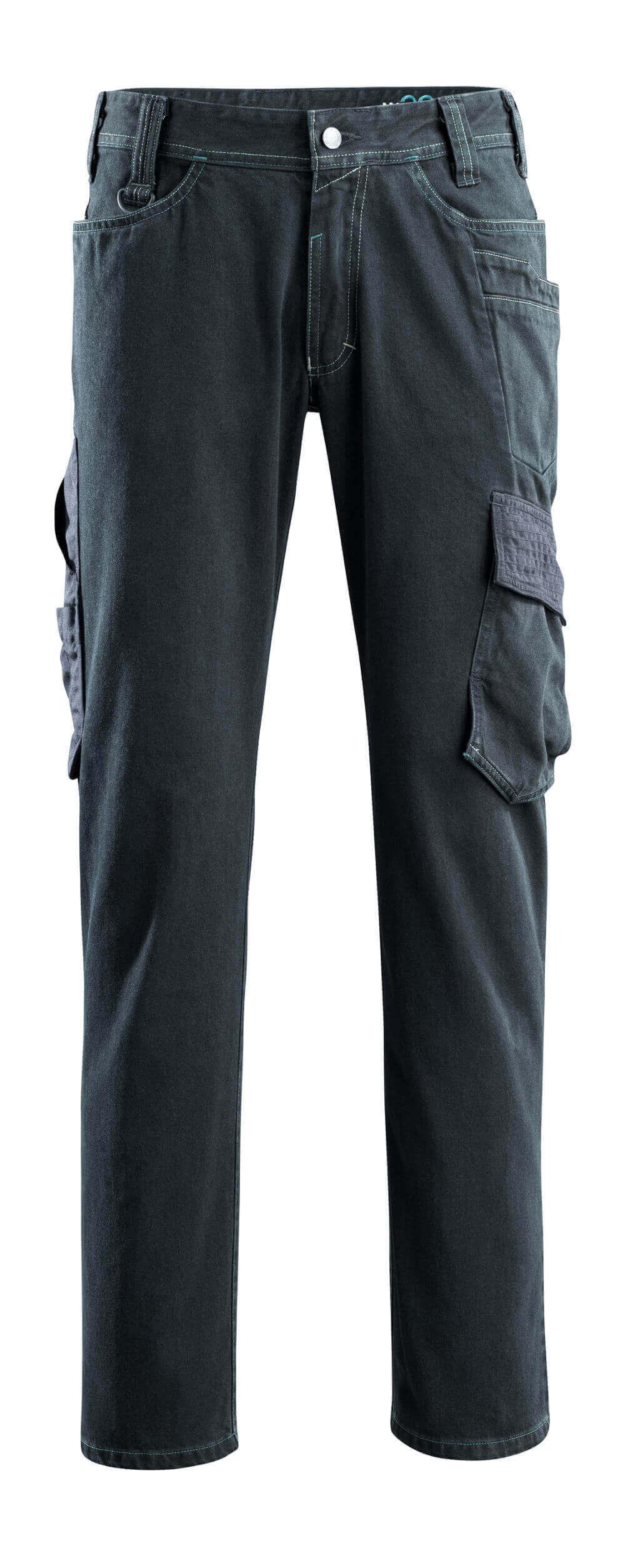 15279-207-86 Jeans avec poches cuisse - Denim blau foncé