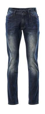 15379-869-76 Jeans - gewassen blauw denim