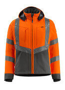 15502-246-1418 Veste softshell - Hi-vis orange/Anthracite foncé