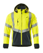 15502-246-14010 Veste softshell - Hi-vis orange/Marine foncé